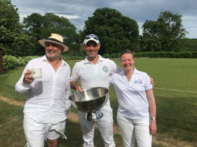 Sussex County winning One Ball team